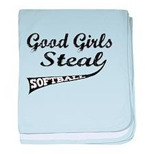 Good Girls Steal (urban) baby blanket