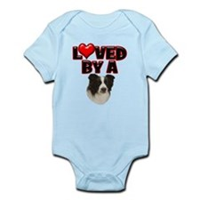 Loved by a Border Collie Infant Bodysuit