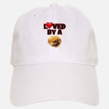 Loved by a Pekingnese Baseball Baseball Cap