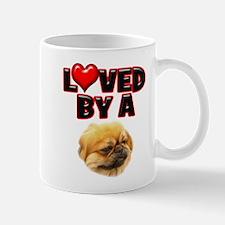 Loved by a Pekingnese Mug