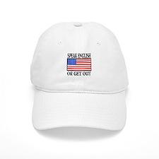 American Speak English or Get Out Baseball Cap