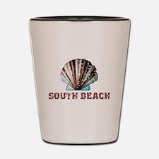 South Beach Shot Glass