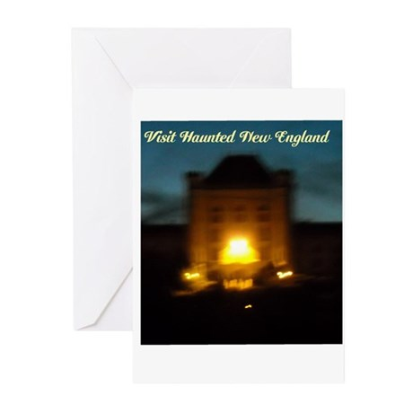 Visit Haunted New England Greeting Cards (Pk of 10