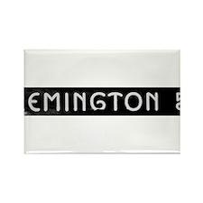 Art Deco Label Rectangle Magnet