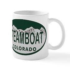 Steamboat Colo License Plate Mug