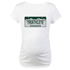 Triathlete Colo License Plate Shirt