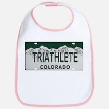 Triathlete Colo License Plate Bib