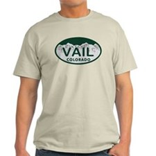 Vail Colo License Plate T-Shirt