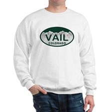 Vail Colo License Plate Sweater
