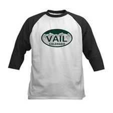 Vail Colo License Plate Tee