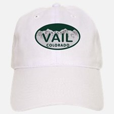 Vail Colo License Plate Baseball Baseball Cap