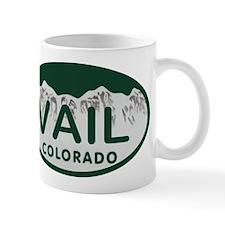 Vail Colo License Plate Mug