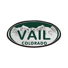 Vail Colo License Plate Patches