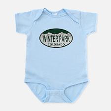 Winterpark Colo License Plate Infant Bodysuit