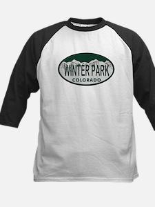 Winterpark Colo License Plate Tee