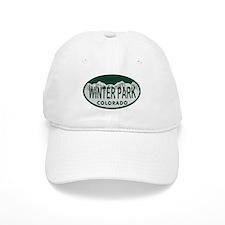 Winterpark Colo License Plate Baseball Cap