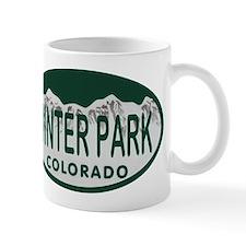 Winterpark Colo License Plate Mug