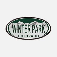 Winterpark Colo License Plate Patches