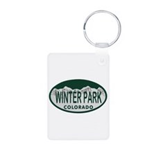 Winterpark Colo License Plate Keychains