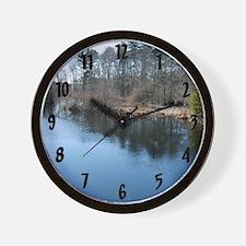 River Lake Wall Clock