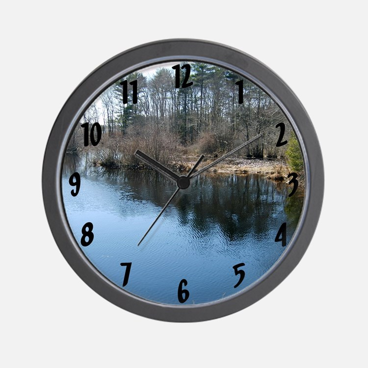 River Lake Wall Clock