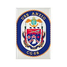 USS Anzio CG 68 Rectangle Magnet