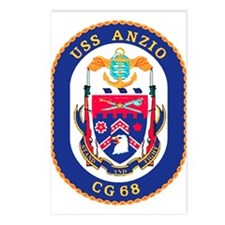 USS Anzio CG 68 Postcards (Package of 8)
