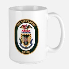 USS Vicksburg CG 69 Mug