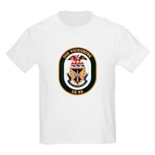 USS Vicksburg CG 69 Kids T-Shirt