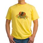 Gecko Heart Yellow T-Shirt