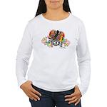 Gecko Heart Women's Long Sleeve T-Shirt