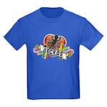 Gecko Heart Kids Dark T-Shirt