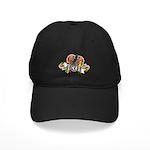 Gecko Heart Black Cap