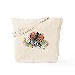 Gecko Heart Tote Bag