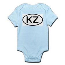 KZ - Initial Oval Infant Creeper
