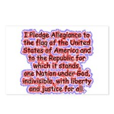 Pledge Allegiance Postcards (Package of 8)