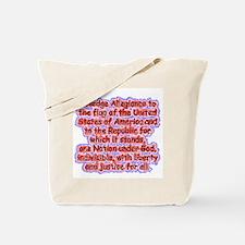 Pledge Allegiance Tote Bag