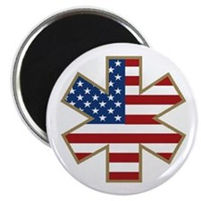 USA Star of Life Magnet