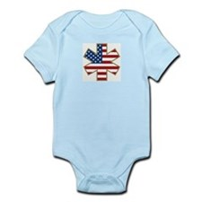 USA Star of Life Infant Creeper