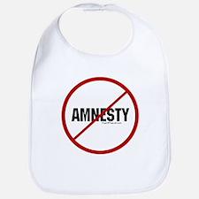 No Amnesty Bib