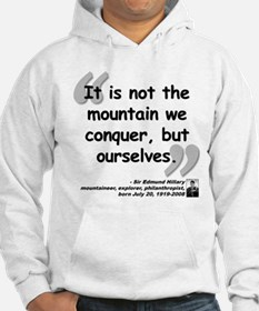Hillary Conquer Quote Jumper Hoody