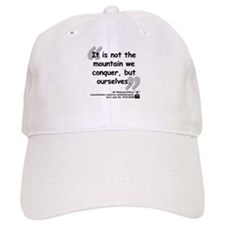 Hillary Conquer Quote Baseball Cap