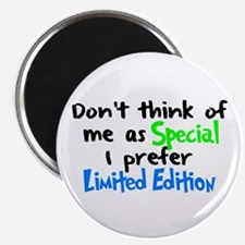 """Limited Edition Green/Blue 2.25"""" Magnet (10 pack)"""