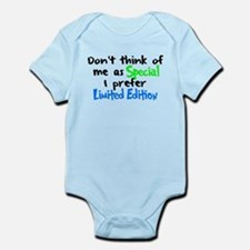 Limited Edition Green/Blue Infant Bodysuit