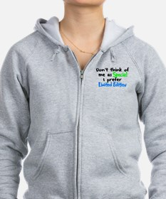 Limited Edition Green/Blue Zip Hoodie