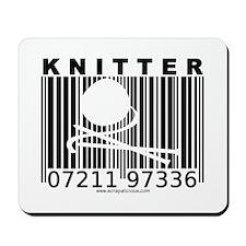 Knitter Barcode Mousepad