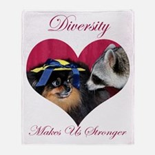 Diversity Throw Blanket