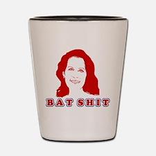 Bat Shit Bachmann Shot Glass