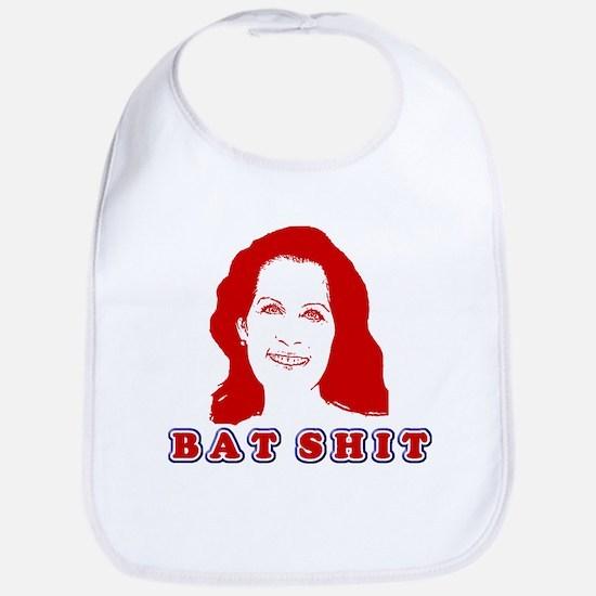 Bat Shit Bachmann Bib