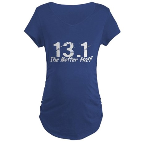 13.1 The Better Half Maternity Dark T-Shirt